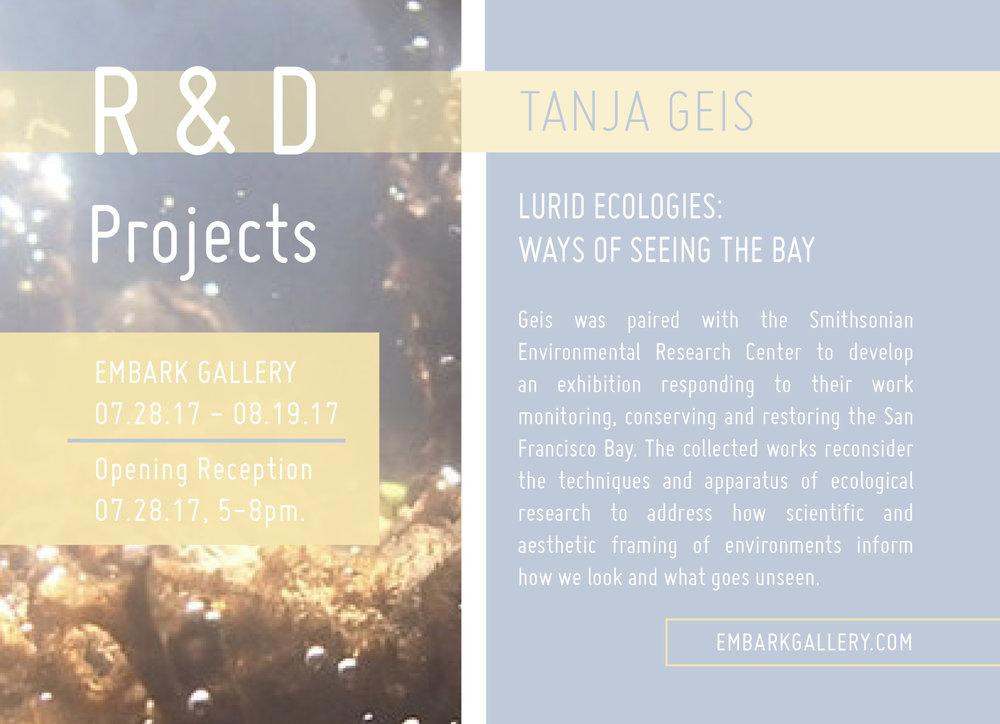 Lurid Ecologies: Ways of Seeing the Bay 07.28.17-08.19.17
