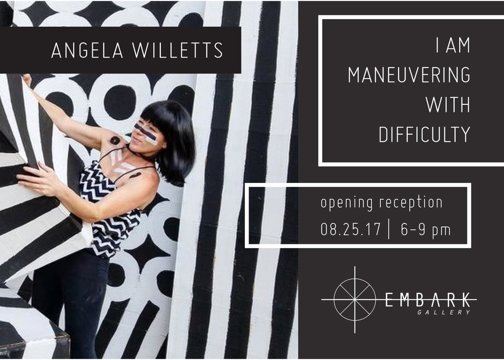 I am Maneuvering with Difficulty 08.25.17-09.16.17