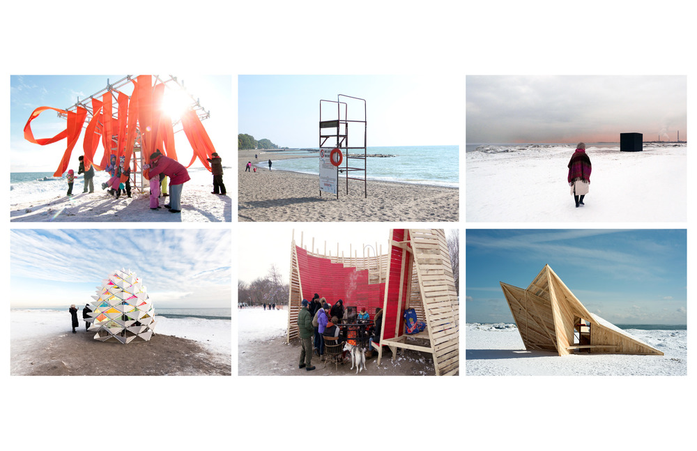 Brief As we learned this past year, during the winter of 2015, even record-cold temperatures cannot turn back Torontonians from the Beach. For 2016 we return with an expanded second annual WinterStations exhibition to celebrate Toronto's winter waterfront landscape. This year we are expecting to include up to thirteen lifeguard stands across Balmy, Kew and Ashbridges Bay beaches located in the heart of the Beach community, south of Queen Street East, between Woodbine and Victoria Park Avenues. These utilitarian structures are to be used as the armature for temporary installations which will need to be able to withstand the rigours of Toronto winter weather. The exhibition is to run February 15, 2015 until March 20, 2015. This is a single-stage open international competition, welcoming artists, designers, architects and landscape architects to submit proposals for WinterStations' temporary artwork installations. Theme This year's theme is Freeze / Thaw. Toronto winters are long and unpredictable. They consist of varying temperatures, amounts of precipitation, wind, in short: dispositions. There are days the snow falls heavy.  Other days are deceptively bright and sunny, but with bristling winds and plummeting cold. The snow accumulates, along with the ice, and sometimes it is blown away, dispersed in drifts. But at some point during the long winter months we wait for the temperatures to rise and the sun to melt it all away. Whether it will do so for good is always an unknown. The theme of Freeze / Thaw asks designers and artists to respond to the changing climactic conditions and transitions of the Toronto winter.  Designs may anticipate the coming spring or refuse to yield, reminding us December is only a few months behind and will return again. They may highlight a static moment or phase in our winter. Perhaps, most significantly, designs have the opportunity to observe, reflect or contrast the immediate waterfront landscape with its banks of snow and frozen ice. To this end, they should expect to be playful and provocative, creatively utilizing materials and site to inform concepts that echo the freeze / thaw narrative and engage the public. There is no limit to the size of the installation, but please note that included in the jurors instructions will be durability and constructability. Winning teams will be provided with an allowance for travel and accommodation to spend time in Toronto during the installation and the activities surrounding the opening, February 12 - 15, 2016. In 2015, this included an opening party at the Balmy Beach Club and a speaking engagement at Toronto's Design Exchange. These events provide opportunities for citizens of Toronto to engage directly with the designers. Members of the design team should expect to meet with media to discuss their designs and ideas. Ryerson University Faculty of Engineering and Architectural Science is returning this year, alongside The University of Toronto Daniels Faculty of Architecture Landscape and Design and Ontario College of Art and Design University (OCADU) and Laurentian University Faculty of Science, Engineering and Architecture. Each will head up teams of students to create installations for four stands. Up to ten proposals from this Call will be selected to design installations for the remaining lifeguard stands. The Lifeguard Stands The lifeguard stands are essentially identical. They are sturdy steel pipe structures to which the installation is to be fastened.  The method of fastening is up to each competitor, however it may not result in any damage to the structure. As this is the off-season for use, there are few restrictions on covering the stations; the three exceptions are: the shepherds' hook, the lifesaving ring and any emergency signage. Please assume minimal security during the event and the possibility of vandalism or simply wear and tear from the curious. There will be no power or utilities available. Proposals should indicate how materials may be disposed of or recycled at the end of the display period. Please designate on your entry if your design is specific to one particular station. Selection and Approval Process Once the Jury has met and determined a short list of entrants, a technical review of the finalists will be conducted in order to ensure the constructability of the projects. Those on the shortlist will be assigned a construction team lead by a project manager, chosen by the organizers to produce the appropriate working drawings in order to ensure that the construction is feasible and within budget. This collaboration will take place from December 2015 through to installation. The final winners will be announced January 8, 2016. All construction will be carried out in Toronto by firms selected by the organizers and overseen by the entrant, the project manager and the construction team. The entrants chosen to participate in this competition agree to work to the schedule established by the organizers. Competition Rules, Regulations and Submission Requirements A design honorarium of $3,500.00 CAD will be paid to selected proposals. Deadline for submissions is November 13, 2015. For all competition rules, regulations and submission requirements please visit: http://winterstations.com/ or contact info@winterstations.com.