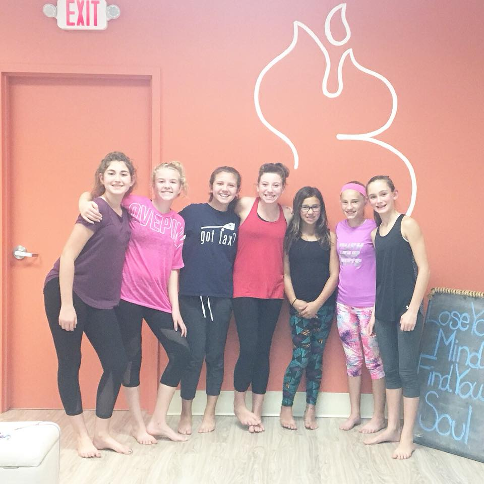 PROJECT Y.E.S.Yoga, Empowerment & Self-Esteem for Teenage Girls - Fridays 6:45-8:00pm 2/15 - 3/22Project Y.E.S. is a 6-week program designed for teenage girls, 12-16 years old. Led by an Experienced Registered Yoga Teacher (E-RYT) & a Licensed Clinical Social Worker (LCSW), this series tackles anxiety, fear, self-care, body image & goal setting in a safe and supportive environment.Through exercise, meditation/mindfulness, and therapeutic group discussion, participants will learn methods for coping with fear and anxiety, tools for setting and achieving goals, tips for self care and skills to improve communication with themselves and others.Cost: $175 Early Bird Special (Regularly $199.00, Expires 2/2)Click Here to Learn More