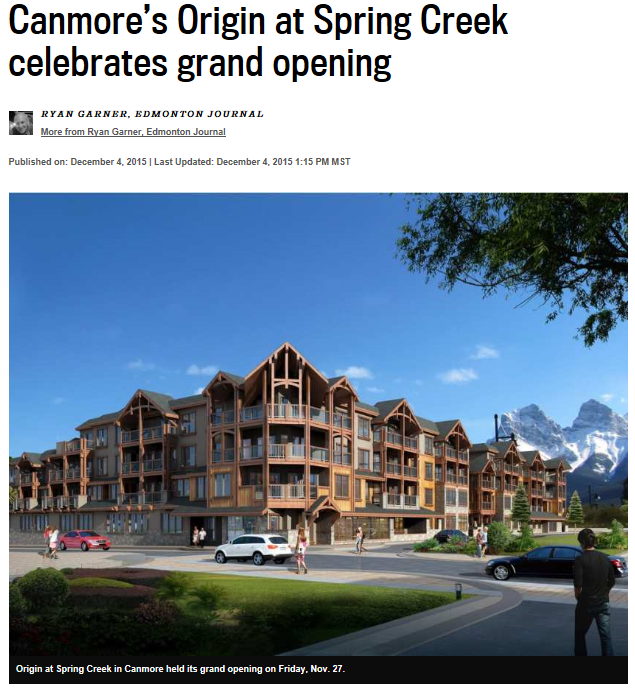 Edmonton Journal | Homes | December 5, 2015