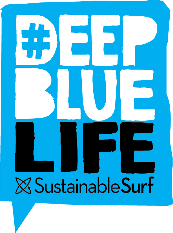 Suga is proud to be Sustainable Surf Deep Blue Life product