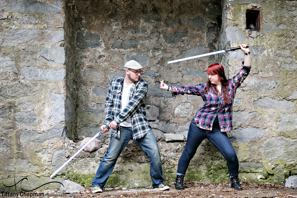 Bancroft Castle Engagement Session