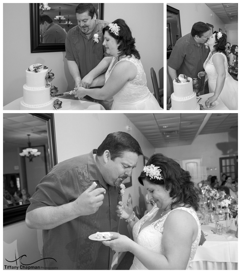 UMMM...cake went down my dress...love this picture!