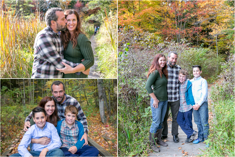 Such a fun family and the foliage was spectacular!