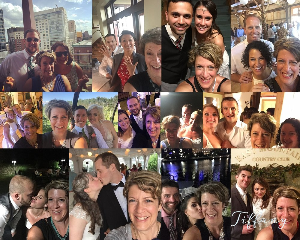 WEDDING SELFIES of 2016!!