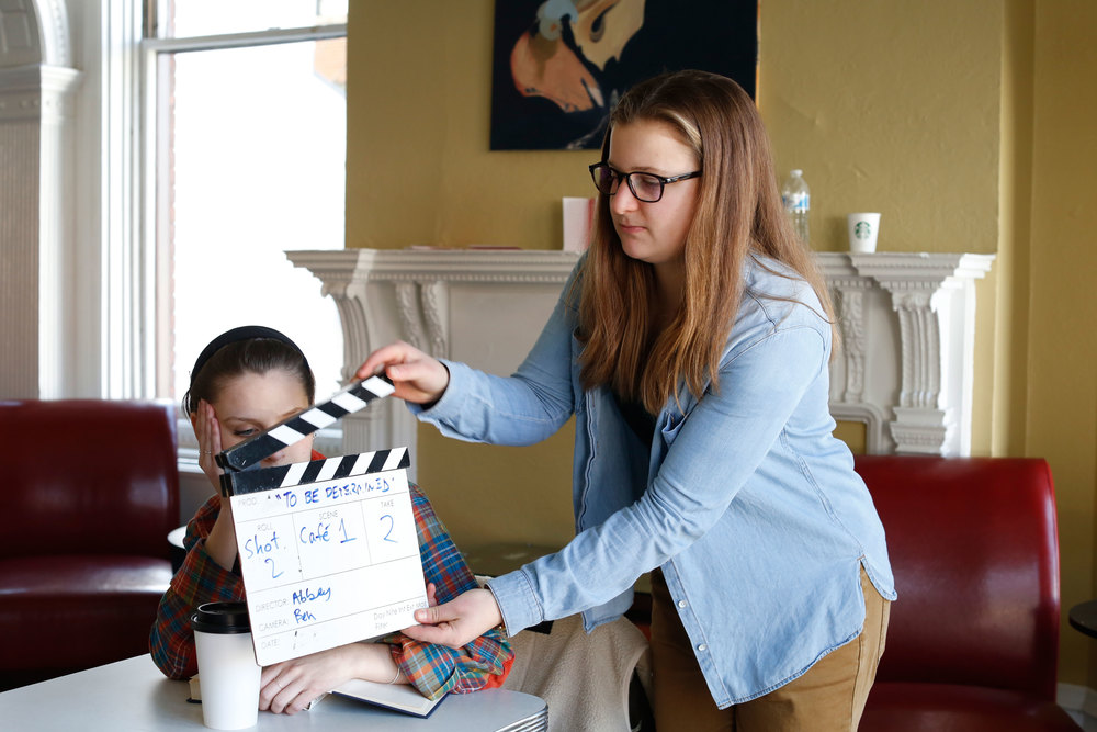 "BTS of ""To Be Determined"" (2015). Written & directed by Abbey Killheffer."