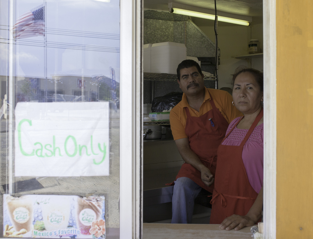 MARTHA, FRANCISCO, El Paso Taco Shop