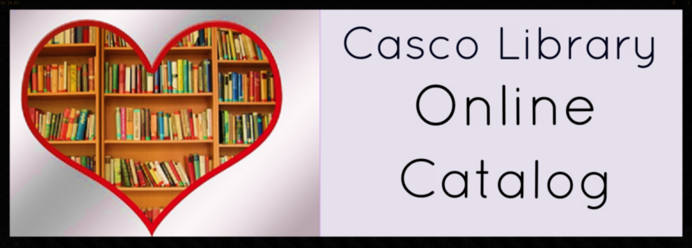 Click Online Catalog Button to log onto your library account