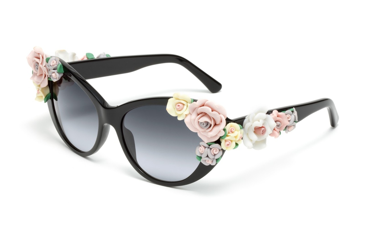 40add86377a Dolce   Gabbana Floral Sunglasses — Kisses   Cake