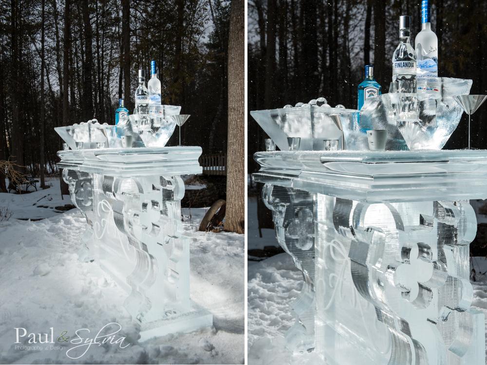 wedding ice bar by ice culture for winter wedding in Muskoka.jpg