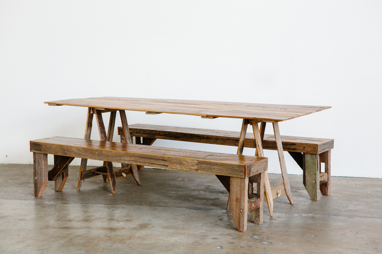 The 'Traditional' Trestle Table