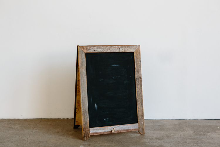 The 'Black Betty' Blackboard