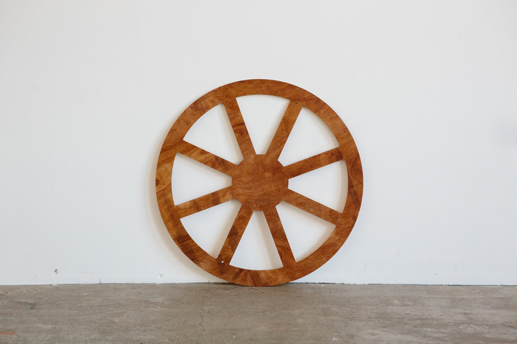 Plywood Wagon Wheel