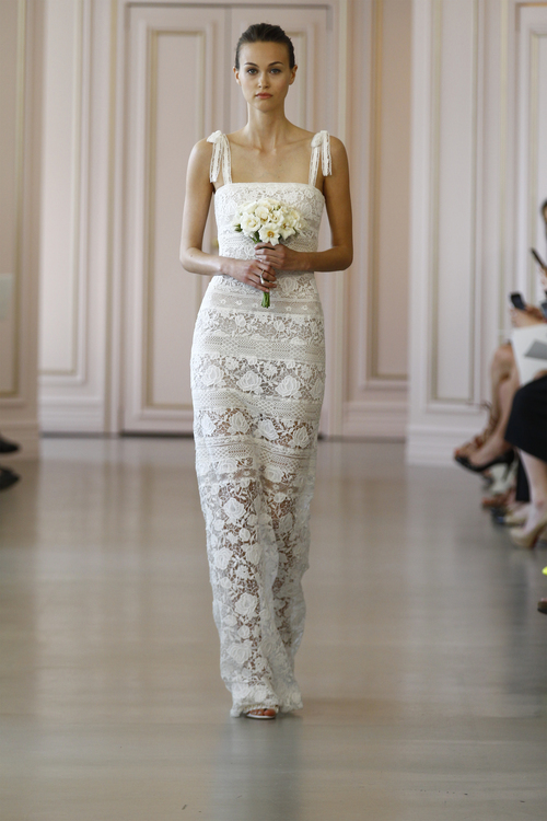 3768a388b23 Oscar De La Renta Spring 2016 Bridal Collection — Kisses   Cake