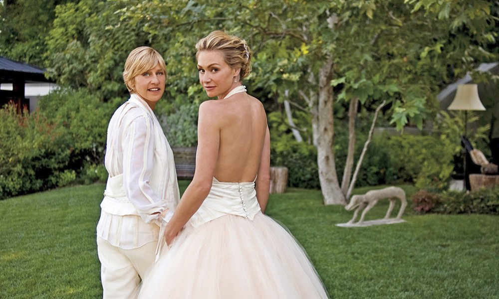 Ellen Degeneres & Portia De Rossi | The Guardian