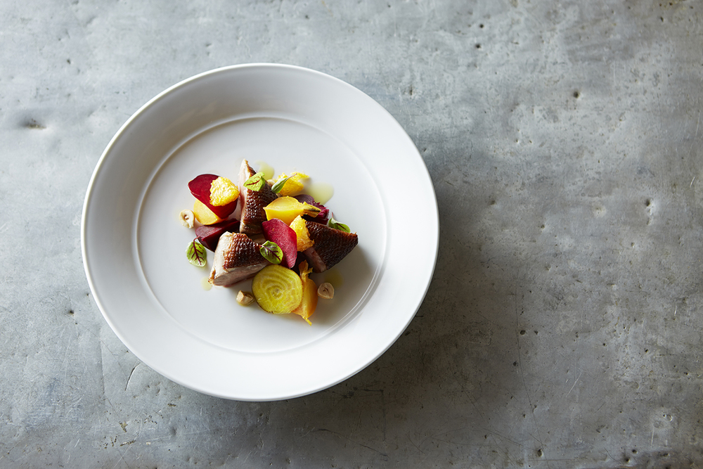 Hickory smoked duck breast with beetroot and manadrin.jpg