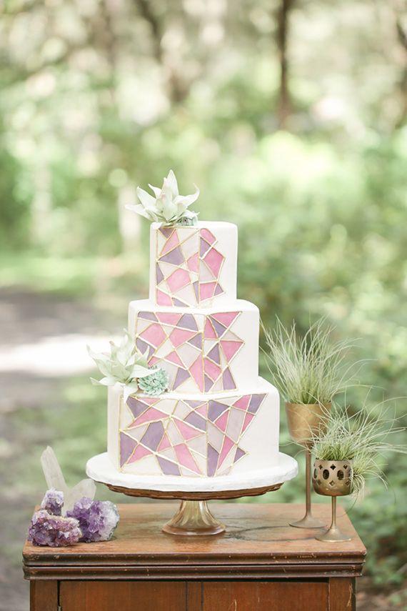 Modern bohemian wedding inspiration | Photo by Amalie Orrange Photography | Read more - www.100layercake.....jpg
