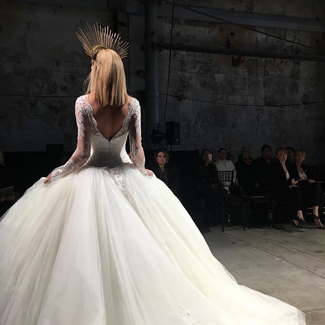Australian Bridal Fashion Week @galialahav @eternalbridal #bride #weddingplanner #fashionweek #bridal #abrw16 #bridalinspiration
