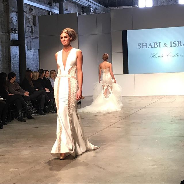 Australian Bridal Fashion Week @shabiandisrael #kissesandcakeweddings  #bride #weddingplanner #fashionweek #bridal #abrw16 #bridalinspiration