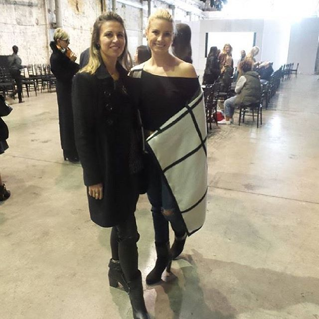 @kissesandcakeweddings Creative Director Alex with the gorgeous Kim from @magnetpr at Australian Bridal Fashion Week  #kissesandcakeweddings  #bride #weddingplanner #fashionweek #bridal #abrw16 #bridalinspiration - thanks @hashtagmeau photo booth for the pic!