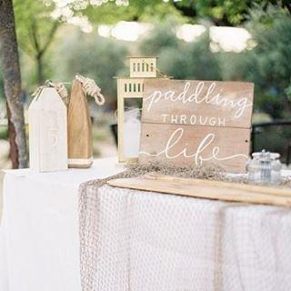 Small details for a nautical inspired wedding. #Nautical #Inspiration #WeddingInspiration #WeddingPlanning #TheBridalCoach #KissesandCake #KissesandCakeWeddings   Image: Coco Tran Photography via stylemepretty.com