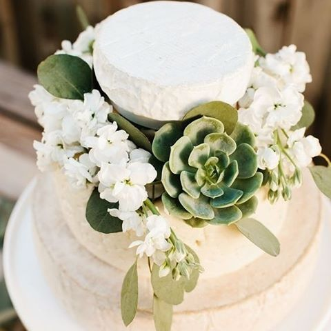 Cheese wheels and succulents. Need we say more? #cheese #wheel #cake #wedding #cheesecake #bride #thebridalcoach #kissesandcakeweddings #kissesandcake #sydneybride #sydneywedding #bridalblogger #weddingblogger #inspiration |Image: popsugar food | Get more inspiration on our website, kissesandcake.com.au, in the Cakes, Catering & Beverages section