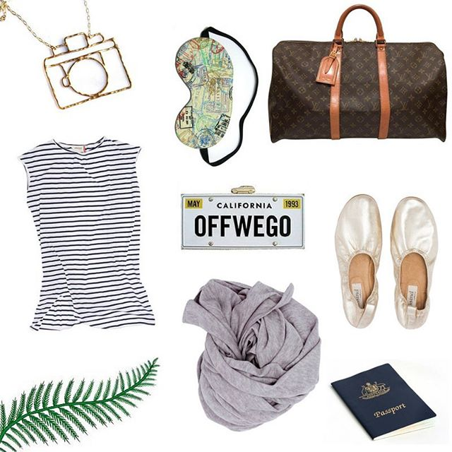 Getting ready for your trip?! We interviewed the awesome designers at @sassind_melbourne about their travel attire (some chic pieces featured in this spread)... Full article in profile link... Also featuring @louisvuitton bag @oddsnblobs eye mask and @rachelpfeffer Jewellery 💗💗✈️✈️ #travel #fashion #honeymoon #bridalblogger #sydneybride