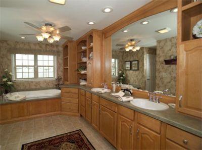 Honey Maple Cabinetry