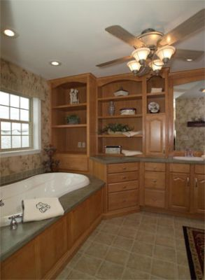 Honey Maple Cabinetry