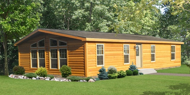 Cedar chalet homes pine grove homes for Chalet style homes