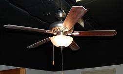 """52"""" 5-Blade Pewter Ceiling Fan"""