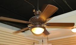 Aged Iron Ceiling Fan