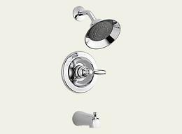 Delta Apex Chrome Tub/Shower Faucet