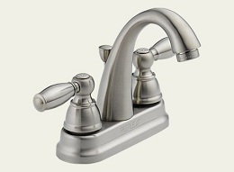 Delta Apex Brushed Nickel Bath Lav Faucet