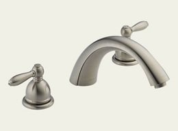 Delta Apex Brushed Nickel Roman Tub Faucet