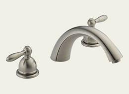 Delta Apex Brushed Nickel Roman Tub Faucet