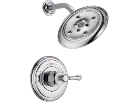 DELTA CASSIDY CHROME SHOWER FAUCET