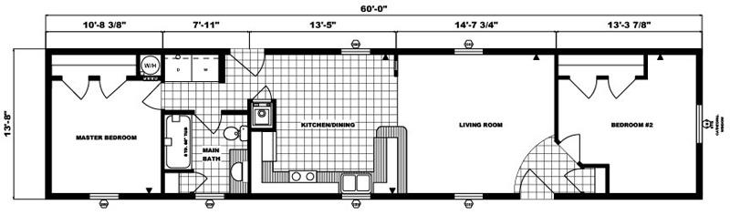 G-491 -14' x 60' - 820 sq. ft.