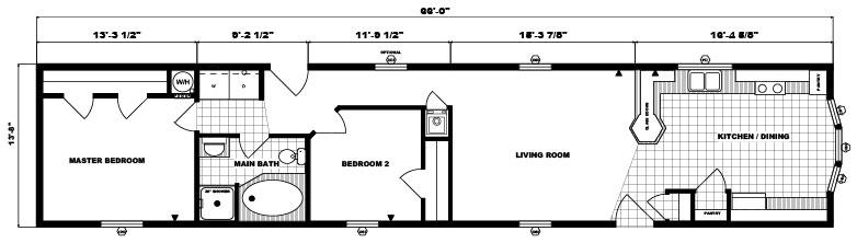 G-535 -14' x 66' - 902 sq. ft.