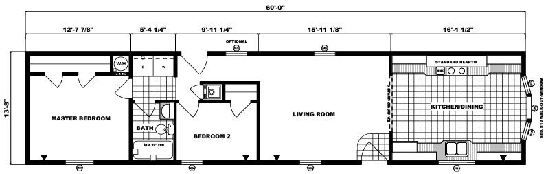 G-562 -14' x 60' - 820 sq. ft.