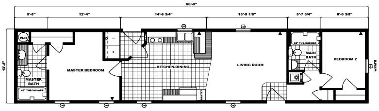 G-568 -14' x 60' - 820 sq. ft.
