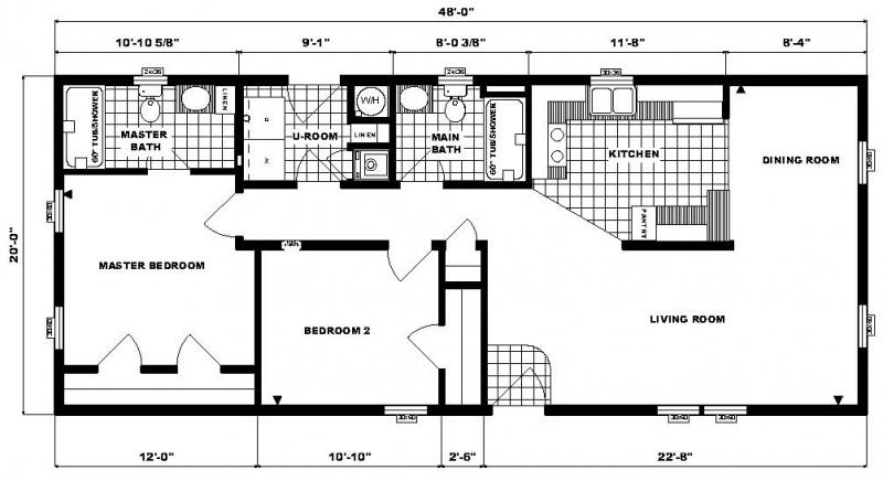 G-120 -20' x 48' - 960 sq. ft.