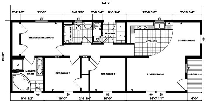 G-131 -20' x 52' - 1,040 sq. ft.
