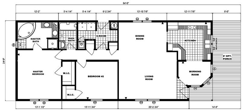 G-248 -24' x 64' - 1,536 sq. ft.
