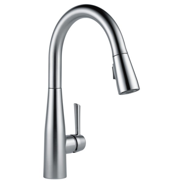Delta Essa Single Handle Pull-Down Stainless Steel Kitchen Faucet