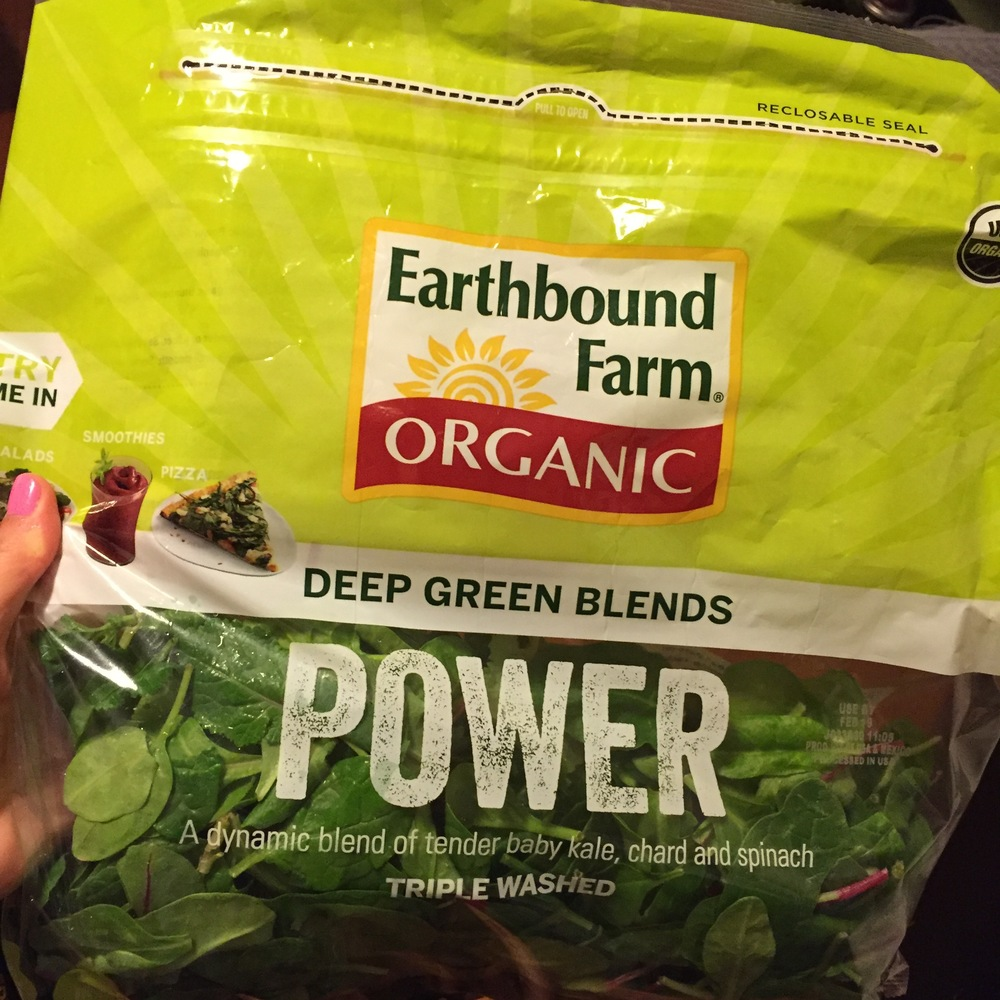 these greens add 1-2 servings of veggies- check out last weeks post to find out how buying in bulk can save you money and help you create delicious smoothies all week long.