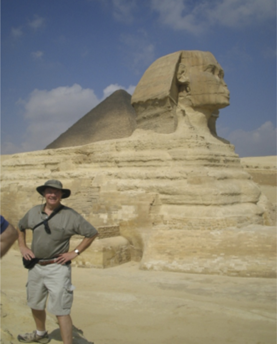 Thor at the Great Sphinx of Giza