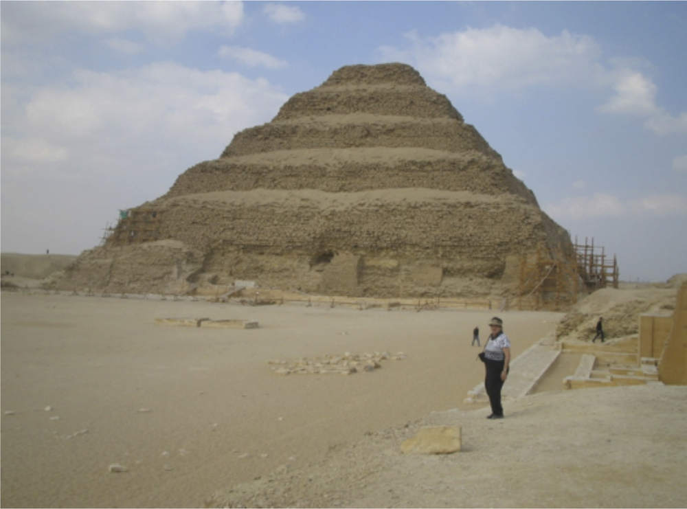 'Step' Pyramid for King Djoser