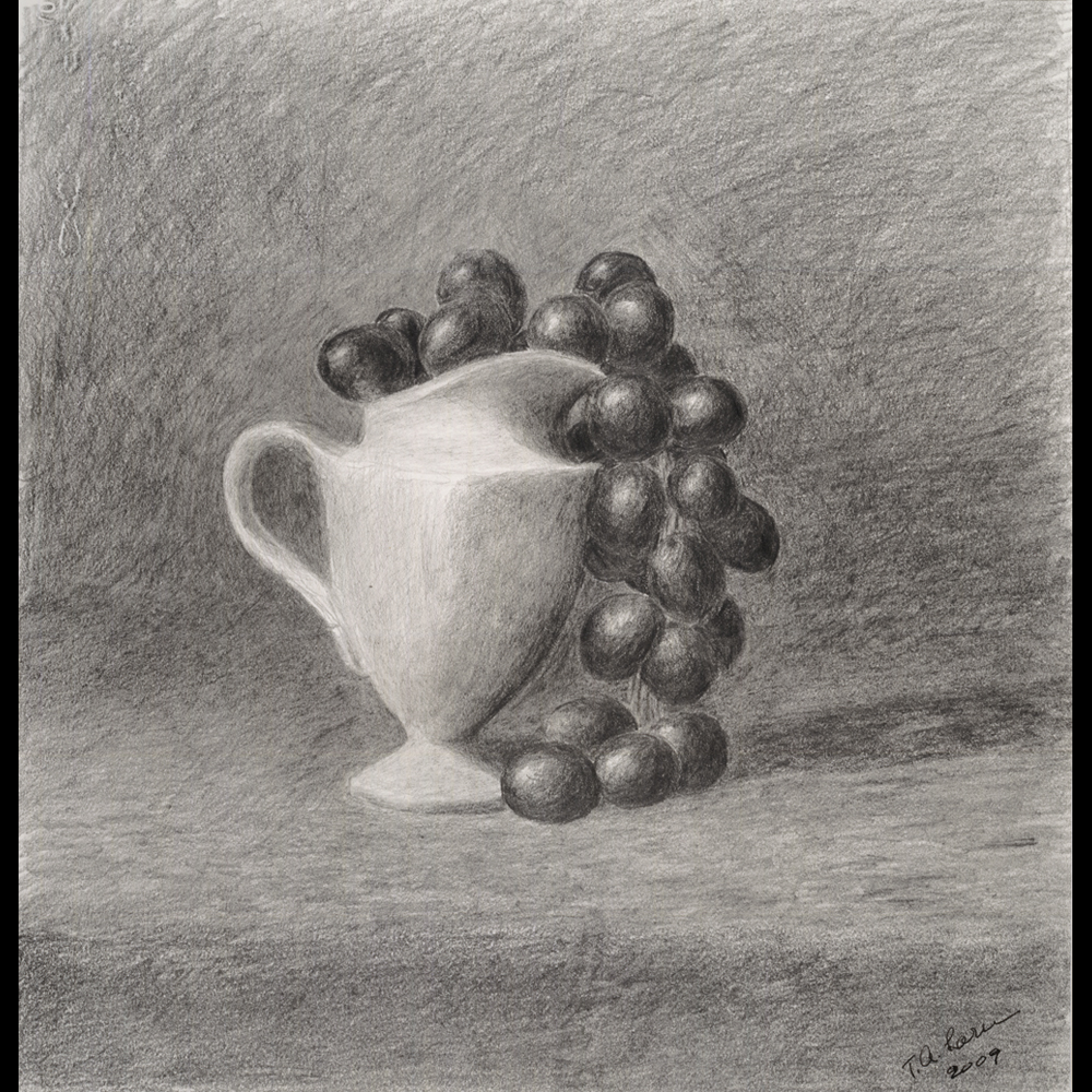 Ewer with Grapes
